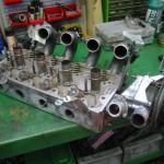 Werk aan cilinderkop
