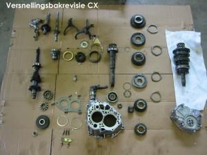 Revisie versnellingsbak CX